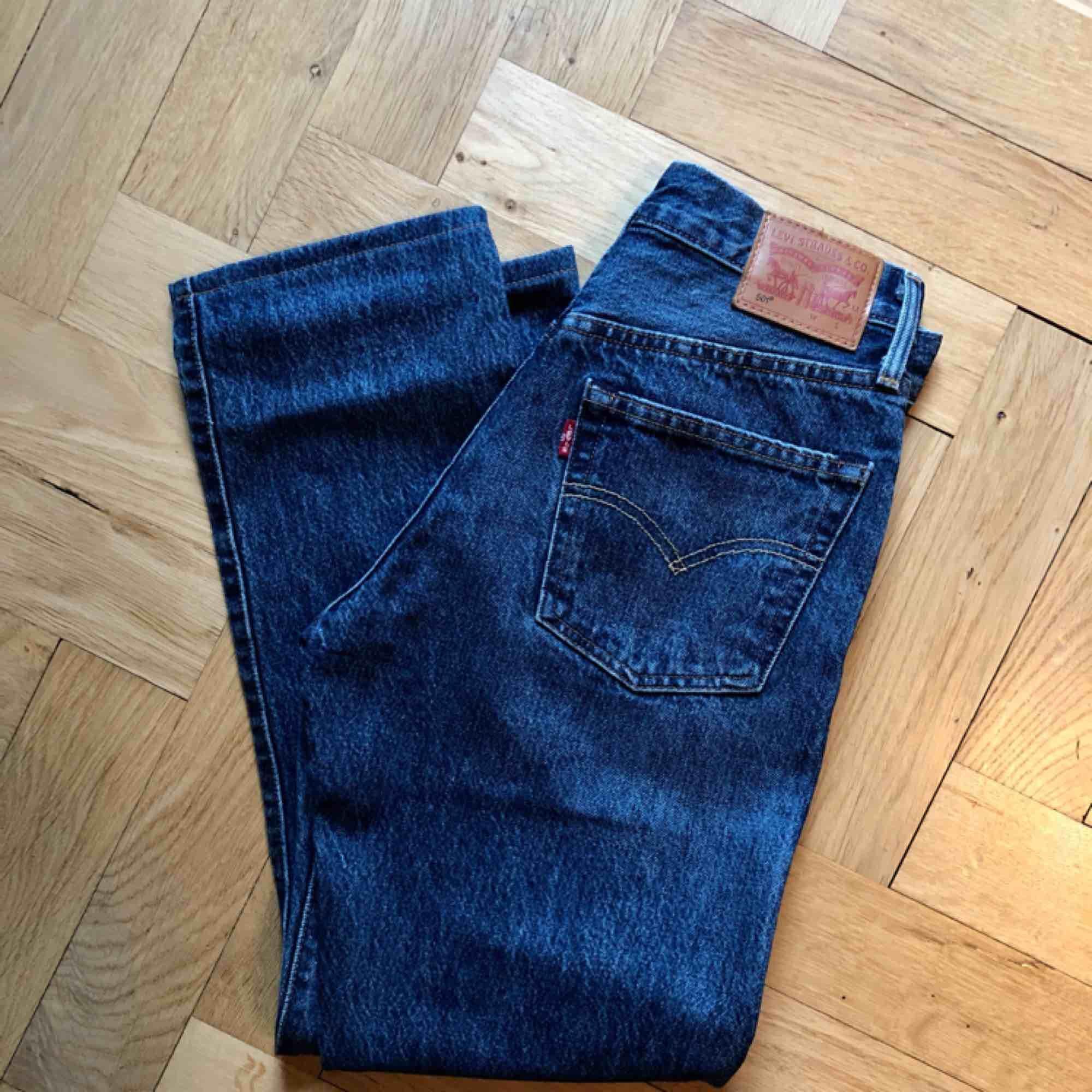 Levis 501 original dam - selvedge . Jeans & Byxor.