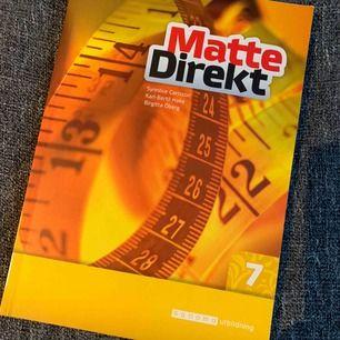 Matte direkt 7 oanvänd nypris ca 300 frakt ingår.