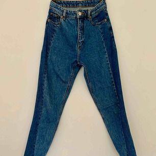 Jeans från Monki i storlek 26. Bra skick! Möts upp i Göteborg eller skickas mot frakt!