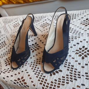 Ett par 60-tals skor, nästan oanvända.