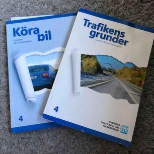 Körkortsböcker i fint skick! Köparen står för frakt! Priset är prutbart!!! 😌
