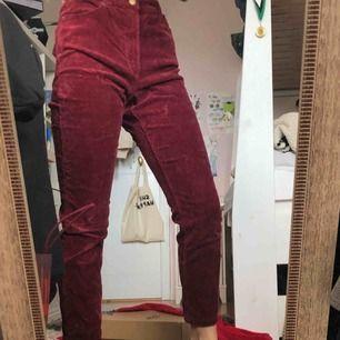 Säljer mina Manchester byxor (vinröda) som är as trendiga just nu!