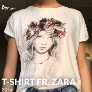 Fin graphic t-shirt från Zara i toppen skick!