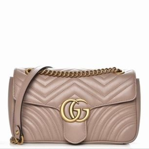 Gucci marmount dusty pink perfekt aaa kopia ser exakt ut som originalet även mocha tyg inuti