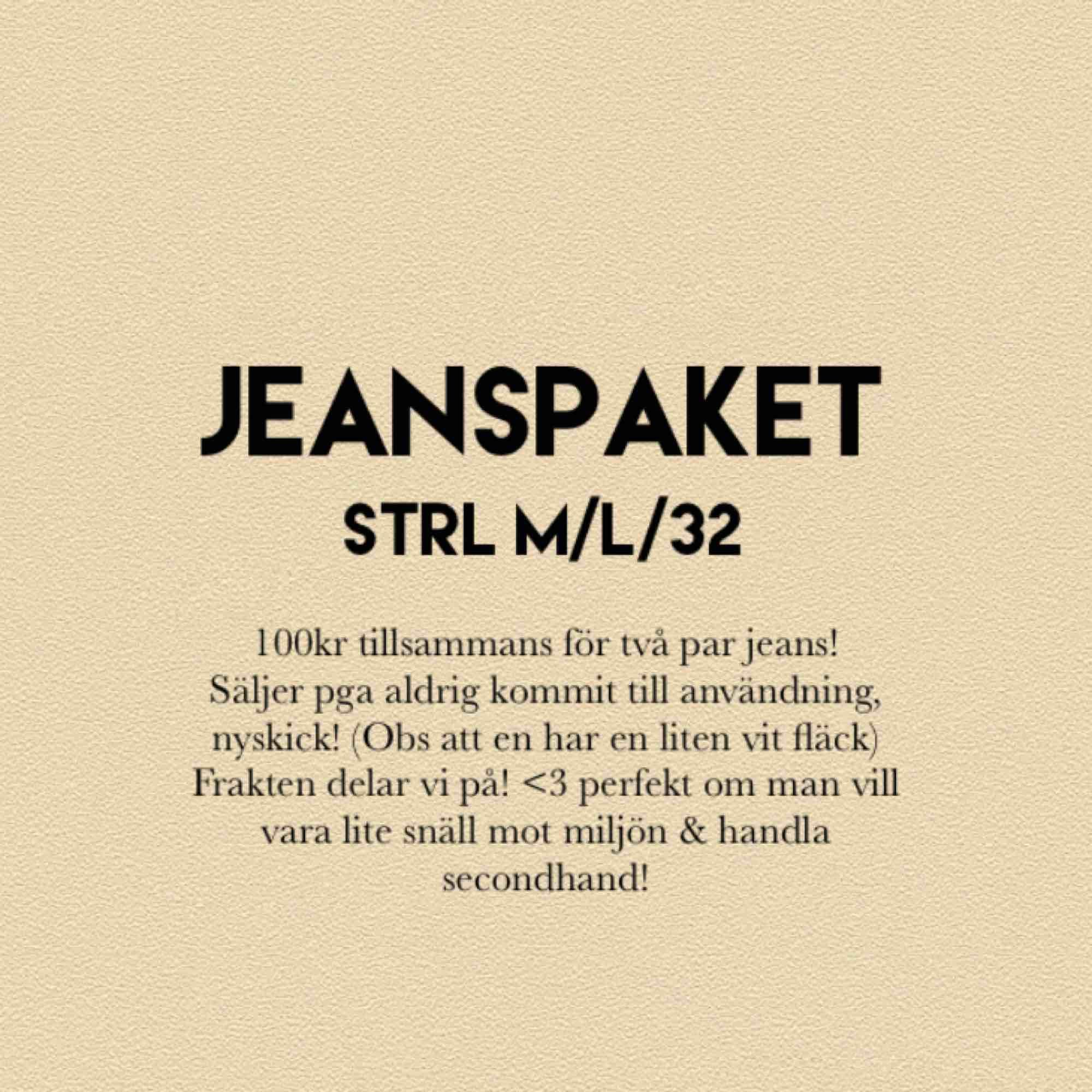 Perfekt Jeans paket!🥰sköna jeans, sitter inte tajta alls! Helt som nya förutom den lilla vita fläcken som knappt syns (bild3). Kan nog tas bort i tvätt! Märke:Noisy May och org pris tsm var 500kr 👍 båda är samma modell fast olika färger. Hör av er!. Jeans & Byxor.