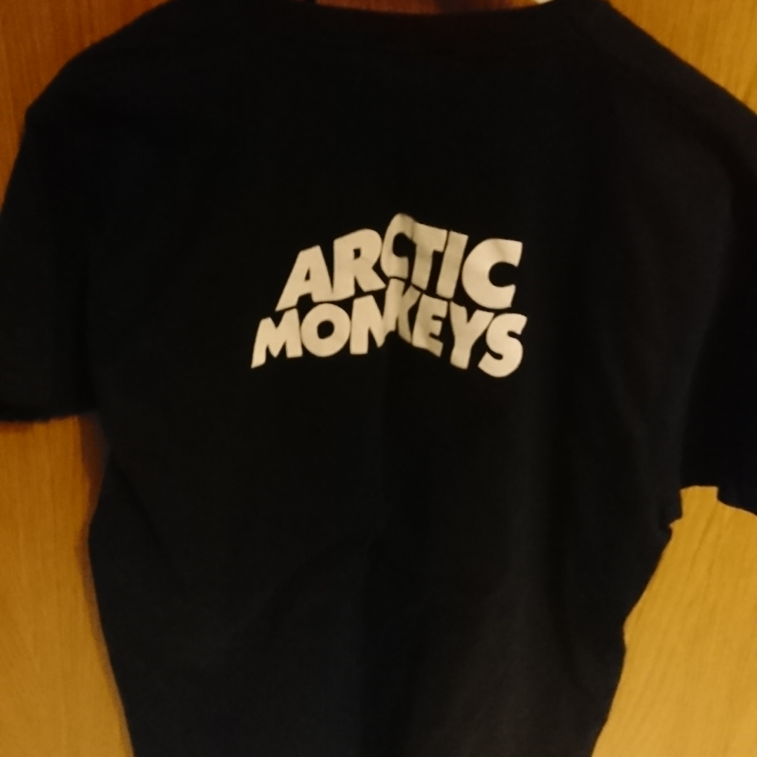 Arctic Monkeys t-shirt, barely used. Not official merchandise. 100% cotton. T-shirts.