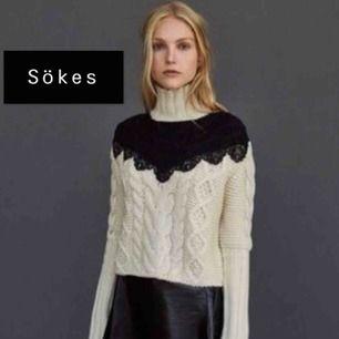Hej! Jag söker denna tröja från Zara Studio i storlek M!