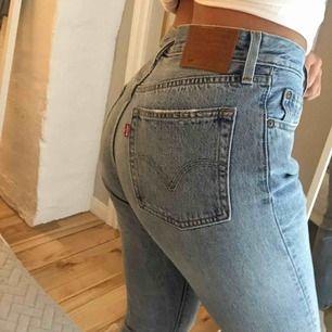 As snygga Levis 501 jeans endast använda 2/3 gånger! Säljes på grund av fel storlek