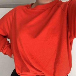 Orange sweatshirt från bik bok. Köpt här på plick men säljes då jag inte gillade hur den satt. Frakt tillkommer.