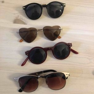 Solglasögon olika former 10kr/st