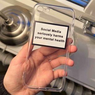 iPhone 7 skal. Helt nytt, aldrig använt. Frakten är inkluderad i priset. Betalning med swish