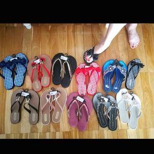 Nya sandaler från Brasilien