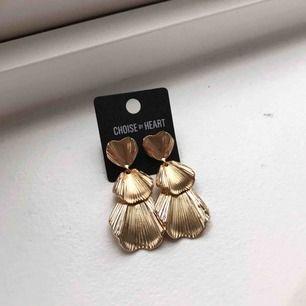 Superfina nya guldiga örhängen! 🦋