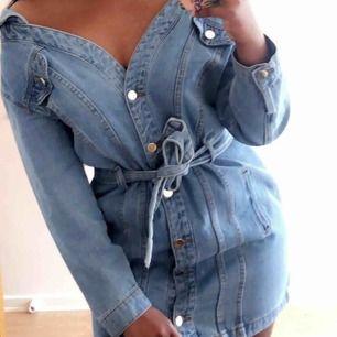 jeans klänning i strl S