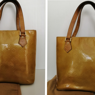 Louis Vuitton Houston bag, very good condition, dustbag, authentic, color gold, size 30x25cm, handle 19cm,        write me for more info and pics