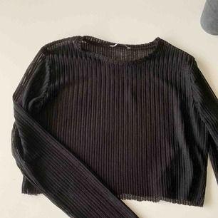 Mesh top från Zara Cropped