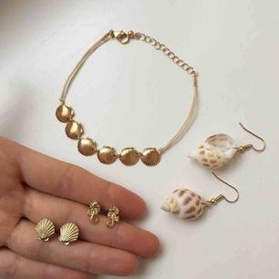 Supersöta och oanvända smycken!  59 kr styck eller alla 4 för 199 kr ✨ Frakt 9 kr ✨