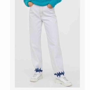 Snygga och unika jeans säljer för att jag köpte fel storlek, oanvända frakt 50kr