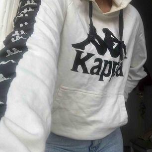 Kappa Hoodie, cream vit färg.Frakt:50kr