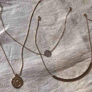 3 fina guldsmycken (inte äkta guld) 💖 25 kr/styck