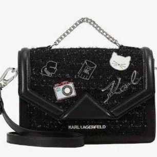 Karl Lagerfeld väska i ny skick .