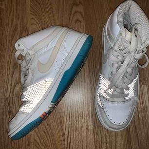 Nike air force. Använda men inte nerslitna
