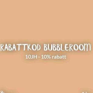 Rabattkod Bubbleroom  10JH (10% rabatt) på allt, även REA!