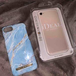 Blått marmorskal från ideal of sweden. Jättefint skick, knappt använt. Till iPhone 6/7/8. Säljer för 65kr plus frakt 9kr.