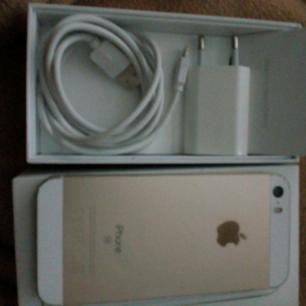 iPhone SE 16GB i mkt gott skick, laddare o kartong  Köparen betalar frakt