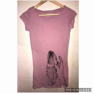 Smalare t-shirt klänning