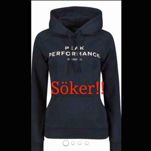 Söker peak hoodie inte allt för dyr liknande bilden i vit svart eller grå☺️