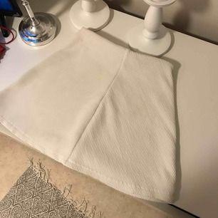 Ribbad kjol från zara, den är lite genomskinlig men annars jätte fin!! Du står för frakten ☺️