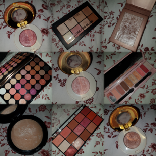 Lite olika paletter och highlighters! Fler bilder kan självklart skickas vid intresse 💖