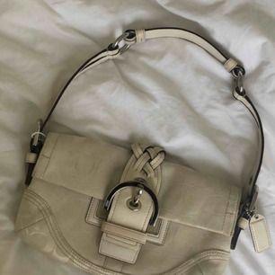 Äkta vintage coach väska.