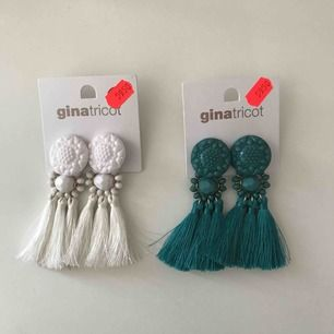Helt nya och oanvända örhängen från Gina Tricot! 20kr styck eller båda för 30kr