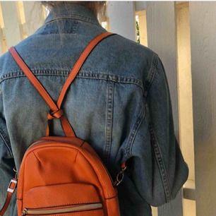 En ryggsäck från märket caprisa köpt i london