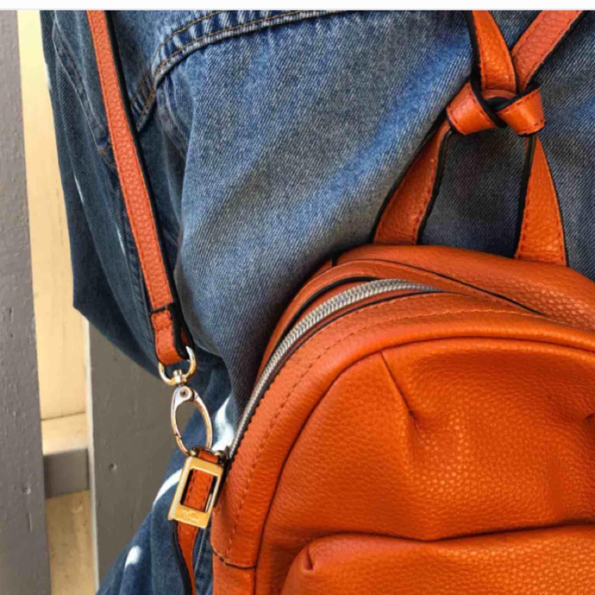 En ryggsäck från märket caprisa köpt i london. Väskor.