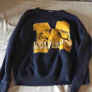 Skit fin vintage Wolverines sweater myck skön och snygg passform