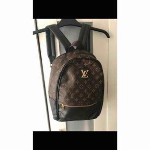 Snygg Louis Vuitton ryggsäck, aldrig använd helt ny (kopia)