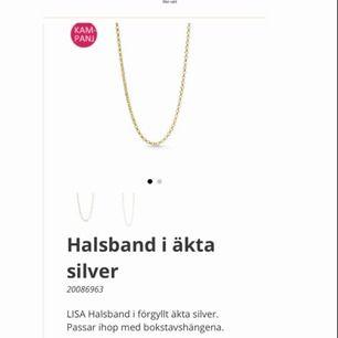 Önskar at köpa kedja i förgyllt silver från Bianca Ingrossos kollektion med Guldfynd. Skicka om du har och vill sälja.