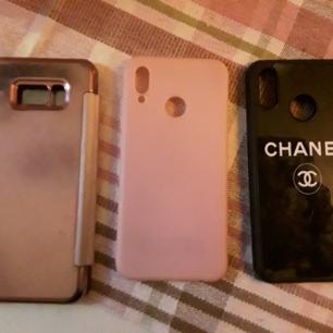 Samsung s8 plus   Dom andra är till Huawai p20 lite