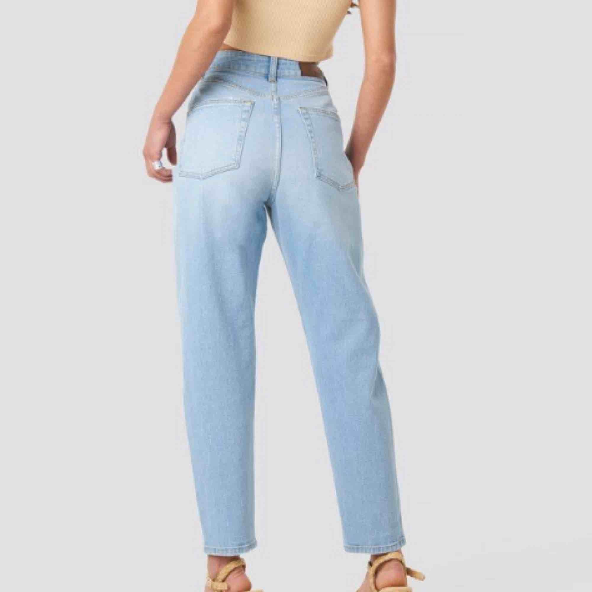 Mom jeans från NAKD, endast testade! Nypris: 400 kr. Jeans & Byxor.