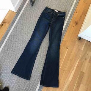 Bootcut jeans från nakd. Använda en gång. Säljes pga att det inte är min stil. Köpare står för frakt💘