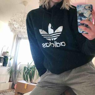 Mörkgrön Adidas-tröja, knappt använd. Väldigt fint skick! Nypris: 700kr. Storlek XS men funkar jättebra som S! Köparen står för frakt. (Kan skicka en tydligare bild om det efterfrågas!)