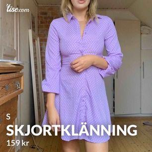 Skjortklänning, aldrig använd - söker nytt hem!!