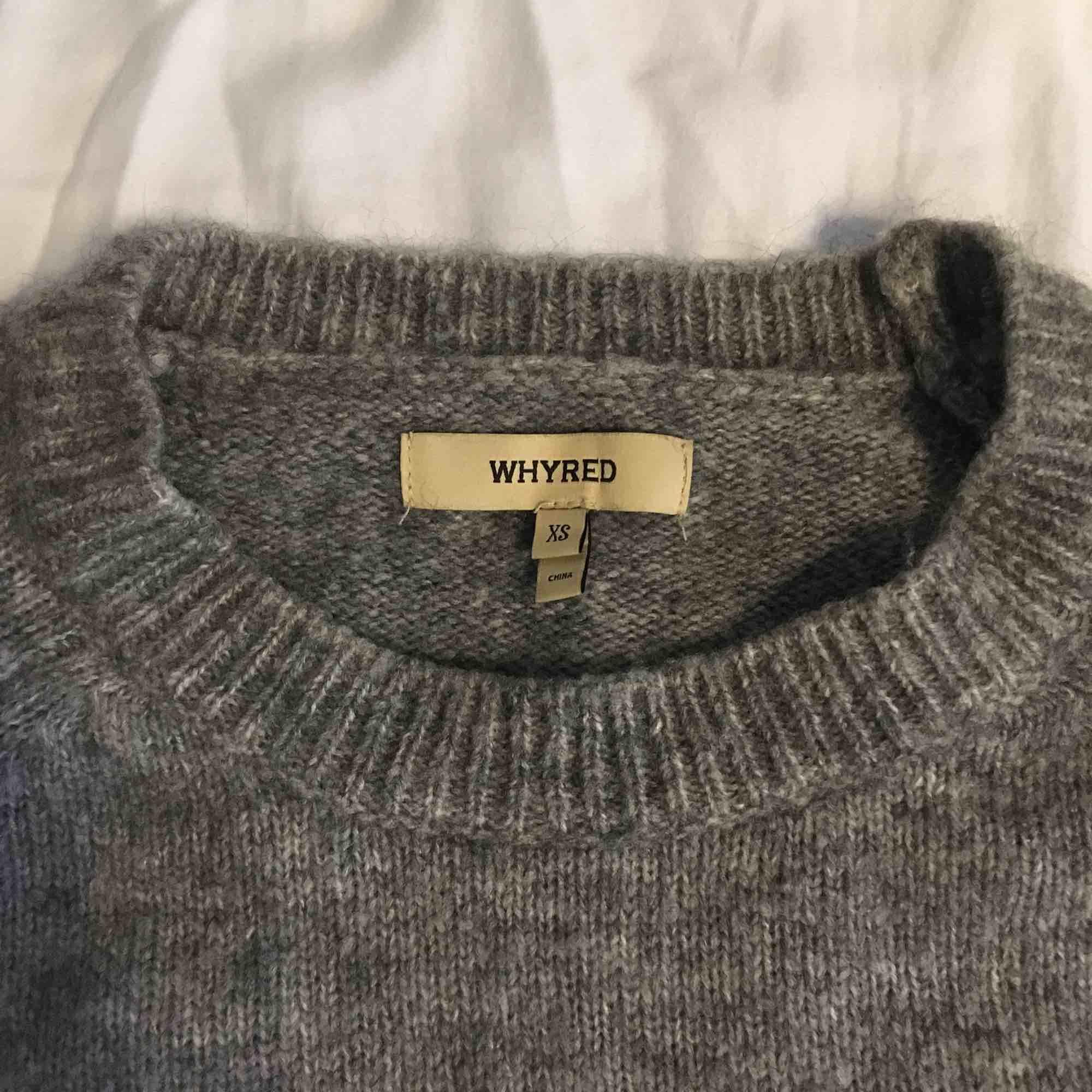 Supermysig tröja från Whyred (52% merinoull, 31% nylon, 17% alpacka). Strl XS men passar även S! . Tröjor & Koftor.