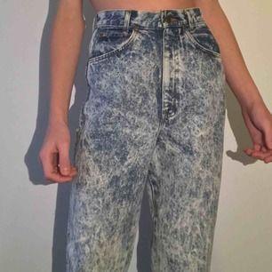 Trendiga högmidjade vintage jeans! 🚭 Hipster vibes 🔮 Frakt tillkommer