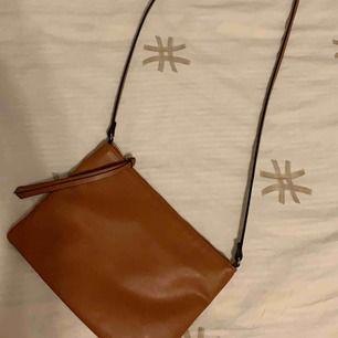 Brun väska ifrån h&m