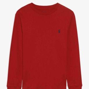 Ralph Lauren t-shirt från kidsbrandstore st 164= S köpt för runt 250kr så säljer för runt 100kr, kan mötas i Sthlm eller frakta men då betalar köparen för frakten!