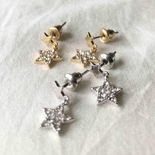 Superfina örhänge med stjärna, finns i guld & silver! Begränsat antal! Fraktar mot fraktkostnad! Kontakta på plick eller @youwelleryuf på instagram 🌟🌟